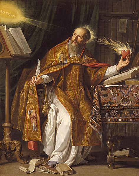 Notre saint patron, Saint Augustin (354 – 430)