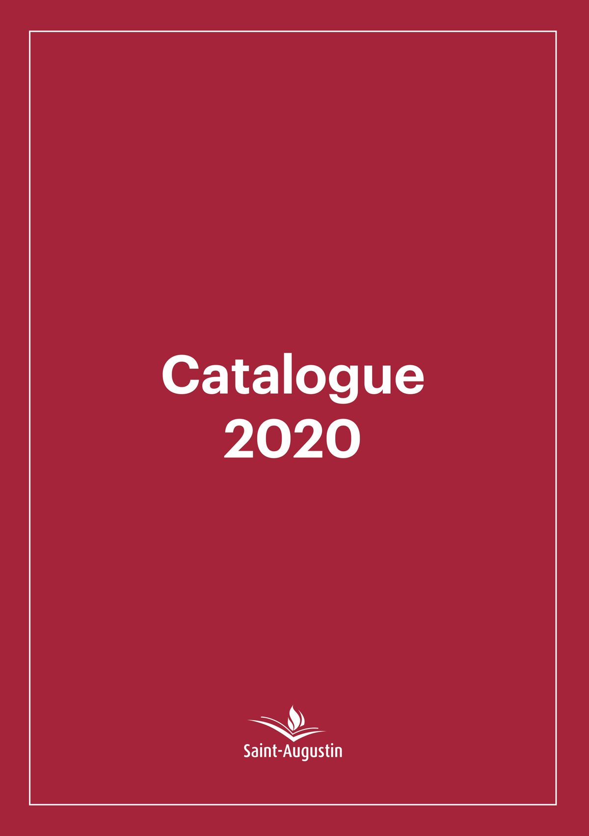Catalogue 2020 des éditions Saint-Augustin